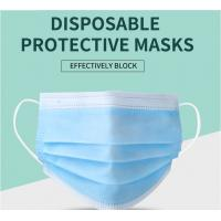 Best Manufacturer CE/ FDA Medical 3Ply Earloop Mouth Mask 3 Layer Disposable 3 ply Medical Face Mask wholesale