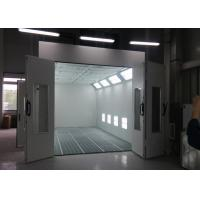 Best Heat Recuperation Spray Paint Booth Systems , Spray Bake Paint Chamber CE TUV Certification wholesale