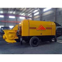 Best 30m3/h Trailer Mounted Concrete Pump Diesel Engine Concrete Mixer Pump wholesale