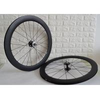 Cheap Carbon track wheelset 700c clincher tubular single speed bicycle wheels for sale