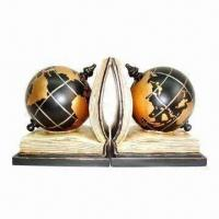 Best Polyresin Globe Design Bookends wholesale