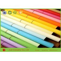 Best Creative Hobbies Rainbow Solid Color Wrapping Paper , 21 Gsm Holiday Wrapping Paper wholesale