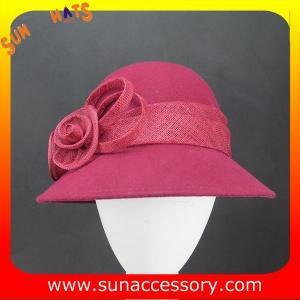 Best 2325 Sun Accessory customized fashion winter wool felt fashion style  hats  ,women hats and caps wholesaling wholesale
