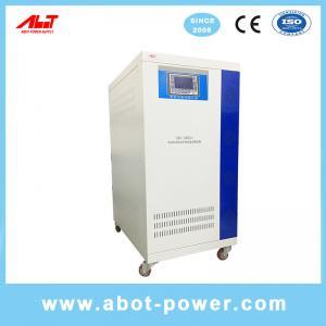 China ABOT Large Capacity Three Phase Servo Motor Controlled Voltage Stabilizer Regulator SBW on sale