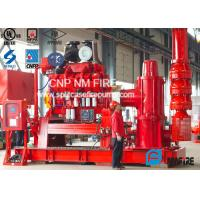China Flow Up To 5000GPM NFPA20 Standard Firefighting Pump Sets With Diesel Engine Driven Vertial Turbine Fire Pump on sale