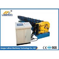China 17.5kW Gutter Downspout Machine Hydraulic Cutting 10-12m/min Production Speed on sale