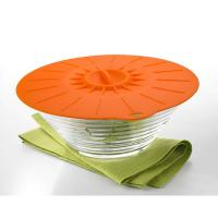 Best 5Pcs Food Grade Reusable Silicone Food Fresh Cover Suction Lid For Bowls Cups wholesale