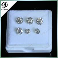 Wholesale GH White Color 1 CT Round Moissanite Diamond