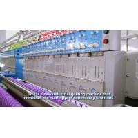 Best Industrial Embroidery Machines Single Needle Quilting Machine With Smooth Stitch wholesale