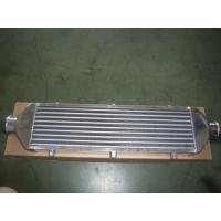 China Compact Vacuum Finned Tube Heat Exchanger / Aluminum Intercooler For Car  on sale