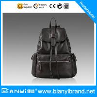 Best China Suppliers custom traveling trendy lady leather hand bag wholesale