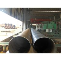 China Spiral Welded Galvanized Steel Pipe For Water Supply , Gas Line , ISO 9001 / API / BV / SGS on sale