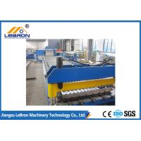 Best New blue color corrugated roof sheet roll forming machine made in China Automatic PLC Control wholesale