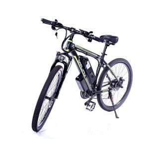 China Black Mtb Electric Assist Mountain Bike High Sensitivity Long Service Life on sale