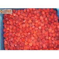 Best Red Pure Organic Frozen Strawberries Fruit With 20%-30% Nature Floret wholesale