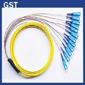 Best Fiber Optic Pigtail -SC/PC- 12 Cores Fanout wholesale