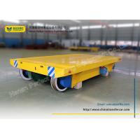 Best heavy load manufacturing industrial turning rail transfer cart wholesale