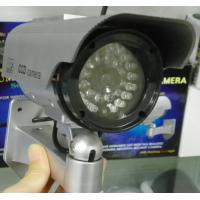 China Indoor/Outdoor CCTV Dummy Security Camera with infrared lights, Solar Powered DRA62 on sale