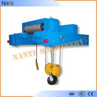 China Industrial 40 Ton / 80 Ton Heavy Duty Rope Hoist Double Girder Winch Trolley on sale