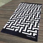 Best Labyrinth Maze Patterned Beach Towels wholesale