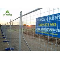China Hot Dipped Galvanized Temporary Fence Panels , Welded Portable Fence Panels  on sale