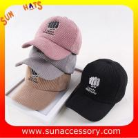 Best QF17006  Sun Accessory customized fashion base ball caps for girls  ,caps in stock MOQ only 3 pcs wholesale