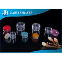 Best Empty Eye Cream Plastic Cosmetic Containers Round Colorful With Refillable Function wholesale