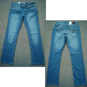 Best wholesale 4822 pieces American culture denim pants blue used look jeans women