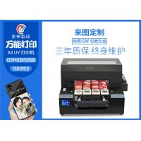 China Embossed 3d Printing A3 UV Flatbed Printer EPSON 1390 Print Head AcroRip9.0 Software on sale