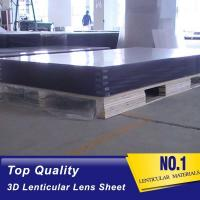 Buy cheap OK3D wholesale High Quality White PP material Plastic Lenticular Sheet high from wholesalers