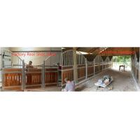 Best Strand woven carbonized classic bamboo equine horse shed stall with tube wire wholesale