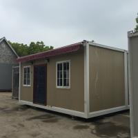Buy cheap Traditional Frame Modern Prefab Steel Homes Fabrication With RW / EPS / PU Sandwich Panel product
