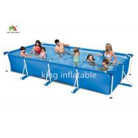 China Gaint Family Stainless Steel Frame Swimming Pool Backyard Fun PVC on sale