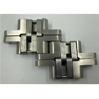 China Surface Mount Adjusting Hidden Door Hinges For Partial Overlay Doors on sale