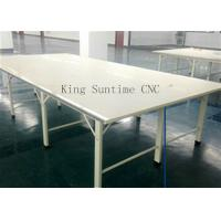 Best Stainless Steel Edge Fabric Spreading Table , Garment Cutting Table Processing Customization wholesale
