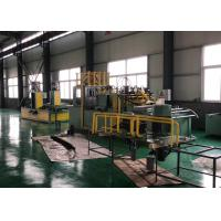 China Transformer Radiator Fin Forming Machine , Corrugated Sheet Roll Forming Machine on sale