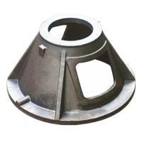 Buy cheap Custom GGG40 Material Ductile Cast Iron Parts Green Sand Casting Process from wholesalers