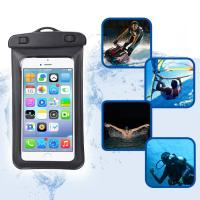 China Amphibious Floatable Waterproof Phone Pouch Bag With Lanyard and Armband Strap For Swimming / Running on sale