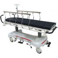 Cheap X-Ray Backrest Hydraulic Patient Transport Stretcher With Mattress , CPR Handle for sale