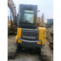Best Komatsu Construction Machines Used Excavator PC55 Strong Digging 4L Displacement wholesale