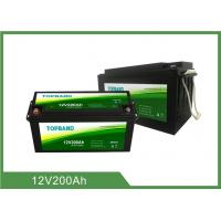 Best 12V 200Ah LiFePO4 Deep Cycle Lithium Battery Lithium 12v Deep Cycle Battery wholesale