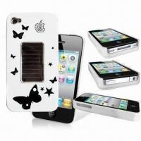 Best Solar Mobile Phone Flashing Case for iPhone, with Built-in IC Sensor, Measures 117 x 60.5 x 15.5mm wholesale