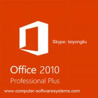 Best Genuine Microsoft Professional Plus Office 2010 Retail Box License Product Key For 1PC wholesale