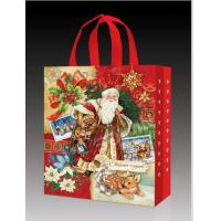 Best Promotional Custom Christmas Style Non Woven Bag gift Bag Reusable Custom Printing Company Logo wholesale