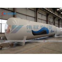 China 40 Tons 80000 Liters Bullet Propane Refill Station on sale