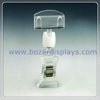 China Plastic Sign Clips-Displays Tickets and Signs on sale