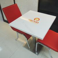 Best Artificial Marble Bar Table Tops Solid Surface Table And Counters With Customised wholesale
