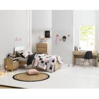 Best Apartment Furniture Space Saving Bedroom Modern Design of Single Bed with Nightstand in Fashion interior Desk wholesale