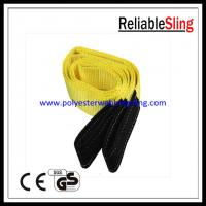 EN1492-1 3T Flat Webbing Sling for high capacity lifting / pulling