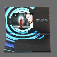 Best Bespoke 5 Inch Video Brochure Card , LCD Greeting Card With Video Screen wholesale
